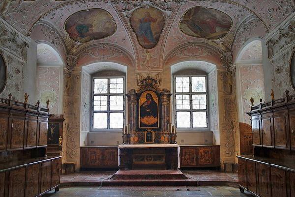 autriche basse-autriche niederösterreich stift abbaye heiligenkreuz wienerwald