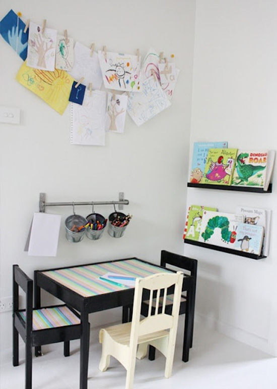 Children S And Kids Room Ideas Designs Inspiration: Belle Maison: Kids Spaces: Playroom / Workroom Inspiration