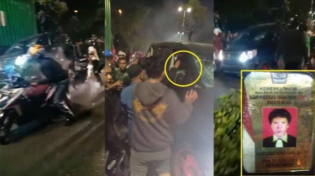 Ada Logo Kemenkumham di Identitas Pelaku Tabrak Lari Surabaya, Kemenkumham Jatim Beri Klarifikasi