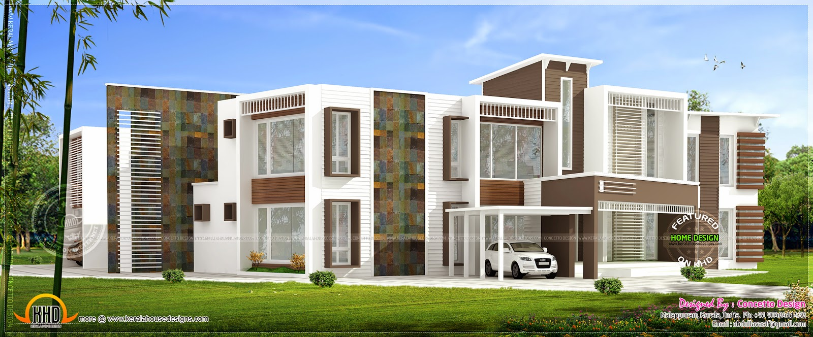 Superb Super Luxury Contemporary Kerala Home Design And Floor Plans Largest Home Design Picture Inspirations Pitcheantrous