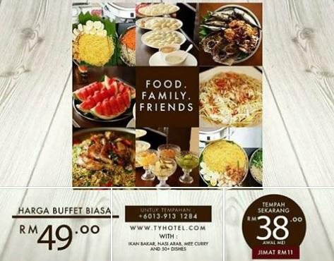 buffet ramadhan ty hotel terengganu 2017
