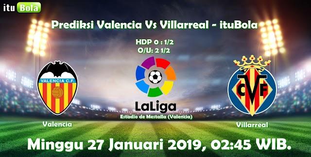 Prediksi Valencia Vs Villarreal - ituBola