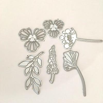 bloemen shaker kaart  || vmcdesigns.nl voor Hobby Alternatief.