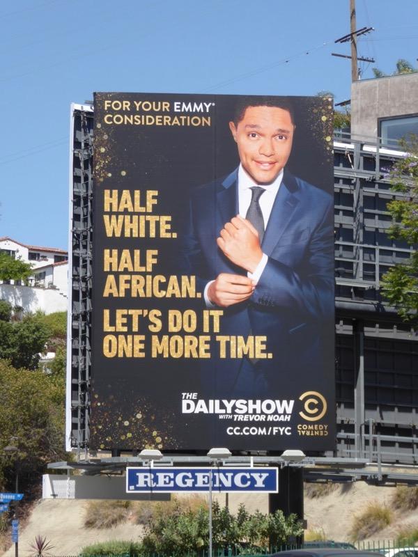 Trevor Noah 2017 Emmy FYC billboard