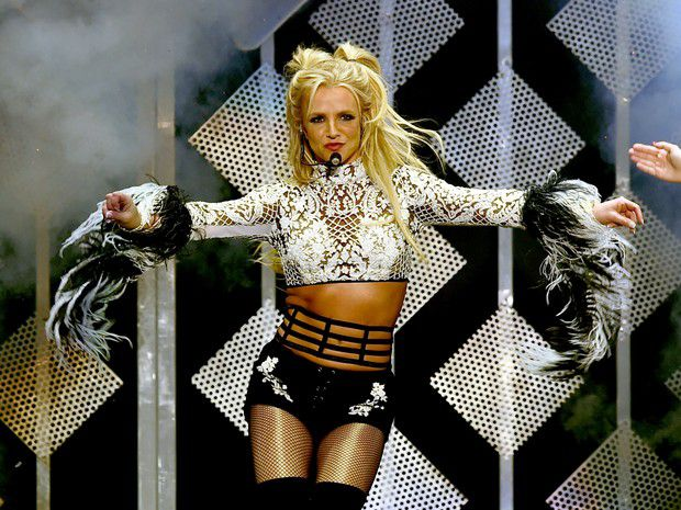 Britney Spears in concert in Los Angeles, United States