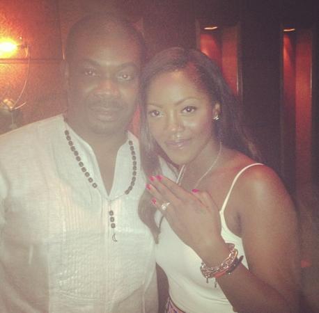 Tiwa Savage and Don Jazzy