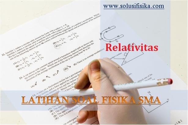 Latihan soal relativitas