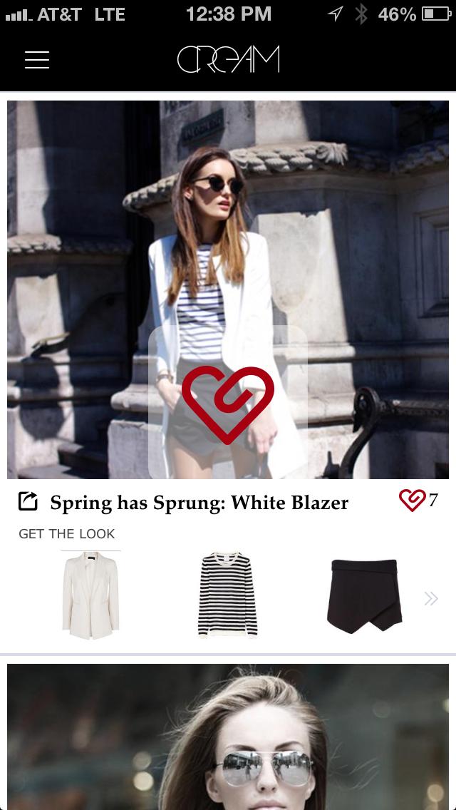 CREAM iOS Fashion Shopping App Launch | Fashion Blog by