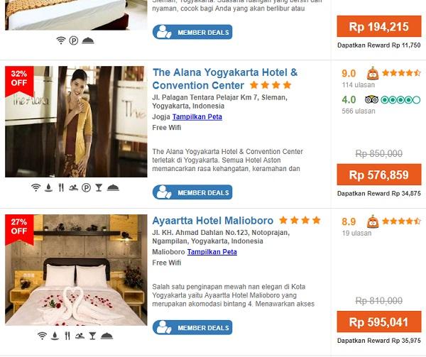 pesan hote di situs travel murah jogjakarta secara online