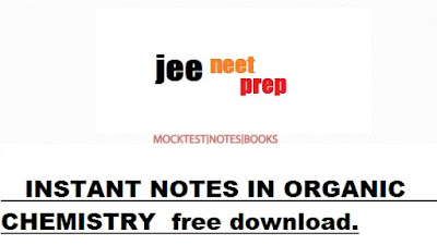 [PDF] DOWNLOAD INSTANT NOTES IN ORGANIC CHEMISTRY .