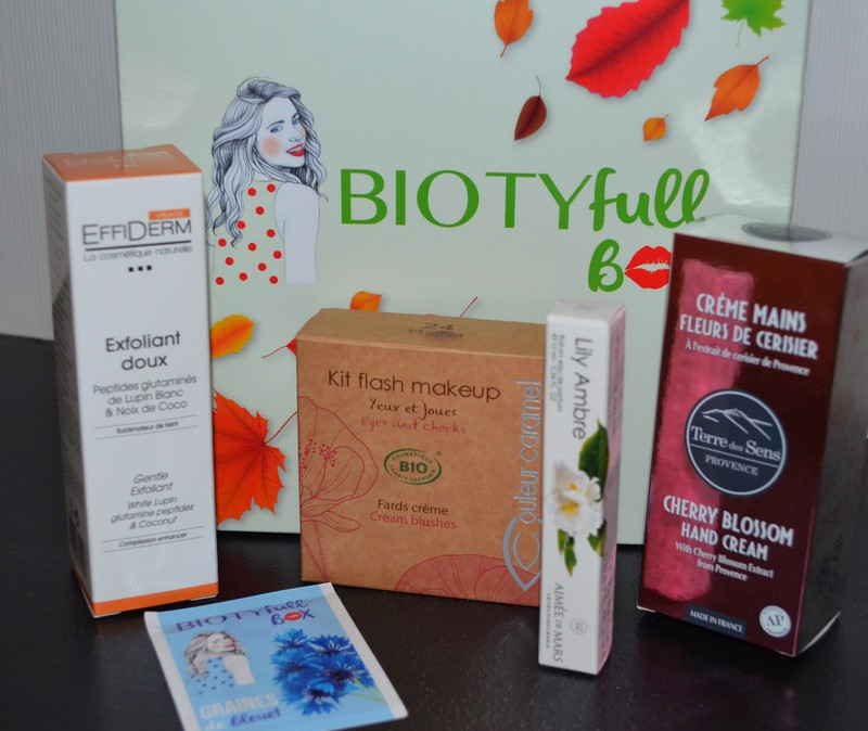 BIOTYfull Box Septembre 2016 | La naturelle