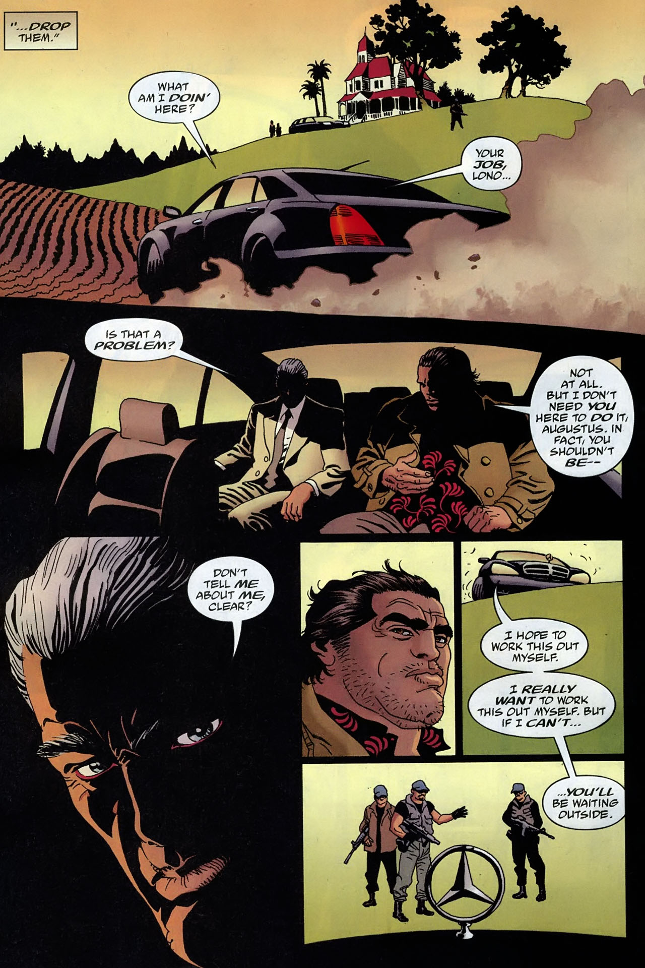 Read online 100 Bullets comic -  Issue #93 - 9