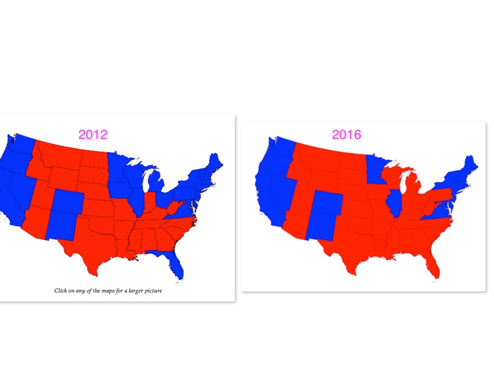 republicans were feeling ecstatic when they viewed the increase in red in the map after the 2016 presidential election