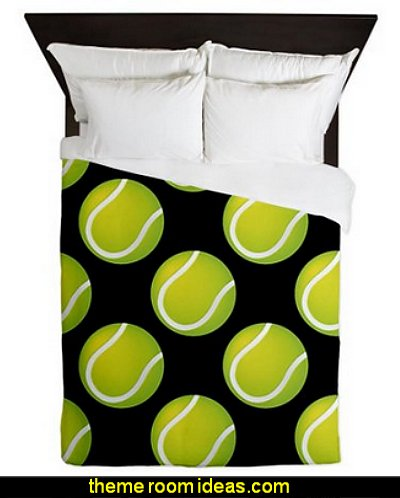 Tennis Balls Queen Duvet