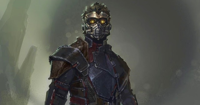 Star-Lord en Guardians of the Galaxy por Andy Park