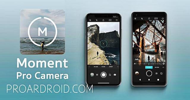 تطبيق Moment Pro Camera للالتقاط الصور باحترافية للاندرويد مجانا logo