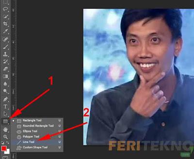 Cara Membuat Tanda Panah di Adobe Photoshop Nih Cara Membuat Tanda Panah di Photoshop Semua Versi Bisa