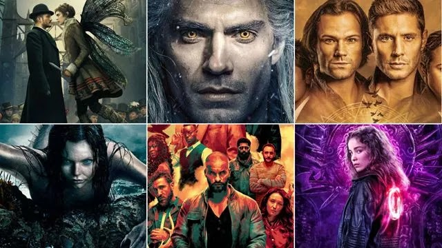 The best fantasy tv series with myths and legends on Netflix HBO and Amazon Prime Video
