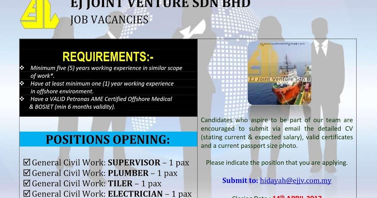 Jobsadvertog blogspot com ej joint venture sdn bhd for E bathroom solution sdn bhd