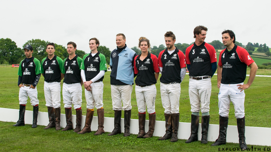 The Bulmers and Champagne Jacquart Polo Teams