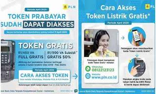 Cara Mendapatkan Token Listrik Gratis Serta Diskon Tagihan Dari PLN