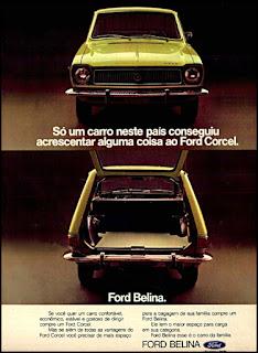 propaganda Ford Belina - 1973, Ford Willys anos 70, carro antigo Ford, década de 70, anos 70, Oswaldo Hernandez,