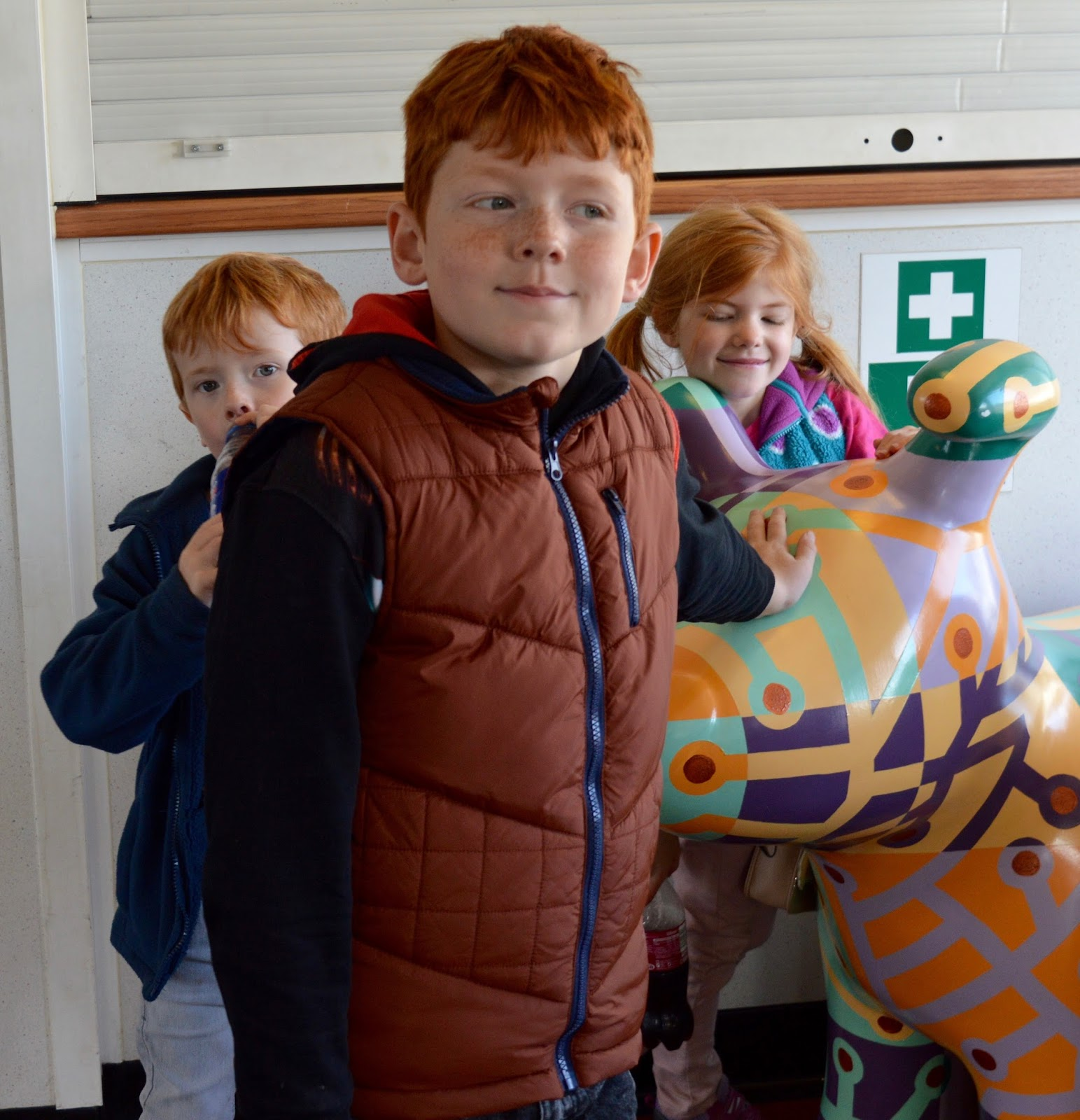 Explore the Great North Snowdogs with Tyne & Wear Metro -South Shields Ferry Snowdog
