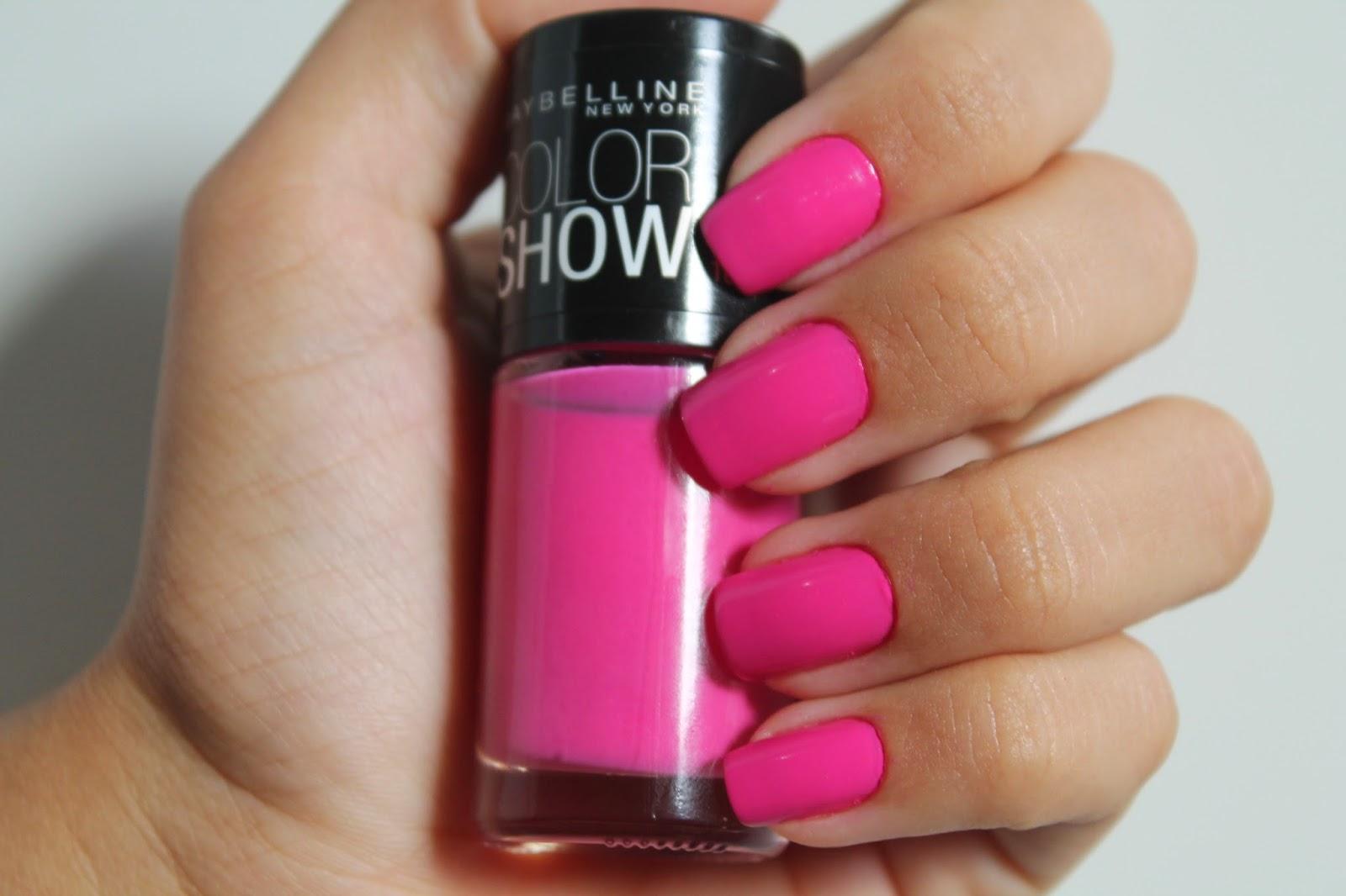 resenha esmalte rosa