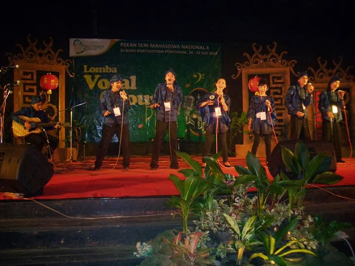 Banten Chorus Perform in Pontianak