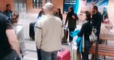 مطار القاهرة, إستقبال سياح من جنسيات مختلفة