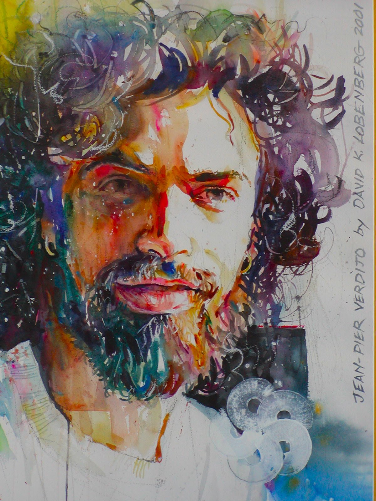 Know anyone out there that would like a lobenberg watercolor portrait im getting better at it honest