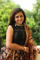 Lasya looks super cute in black choli Saree at Raja Meru Keka Press Meet ~  Exclusive 030.JPG