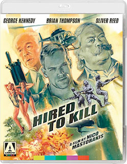 DVD & Blu-ray Release Report, Hired to Kill, Ralph Tribbey