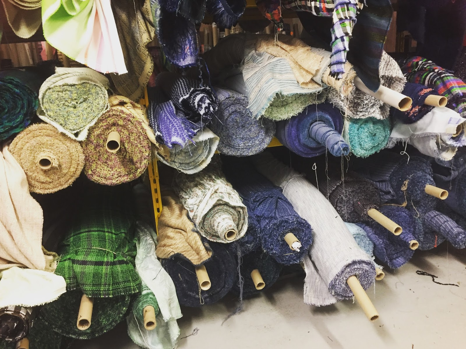 Kate Henderson Quilts: Fabric Shopping in Paris