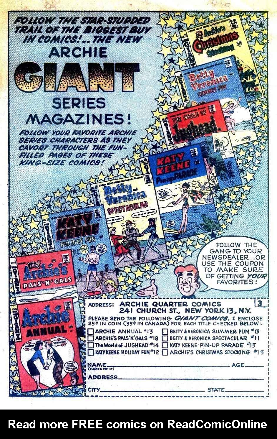 Read online Archie (1960) comic -  Issue #125 - 19