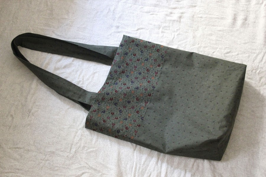 DIY Costura fácil: cómo hacer bolso en dos colores