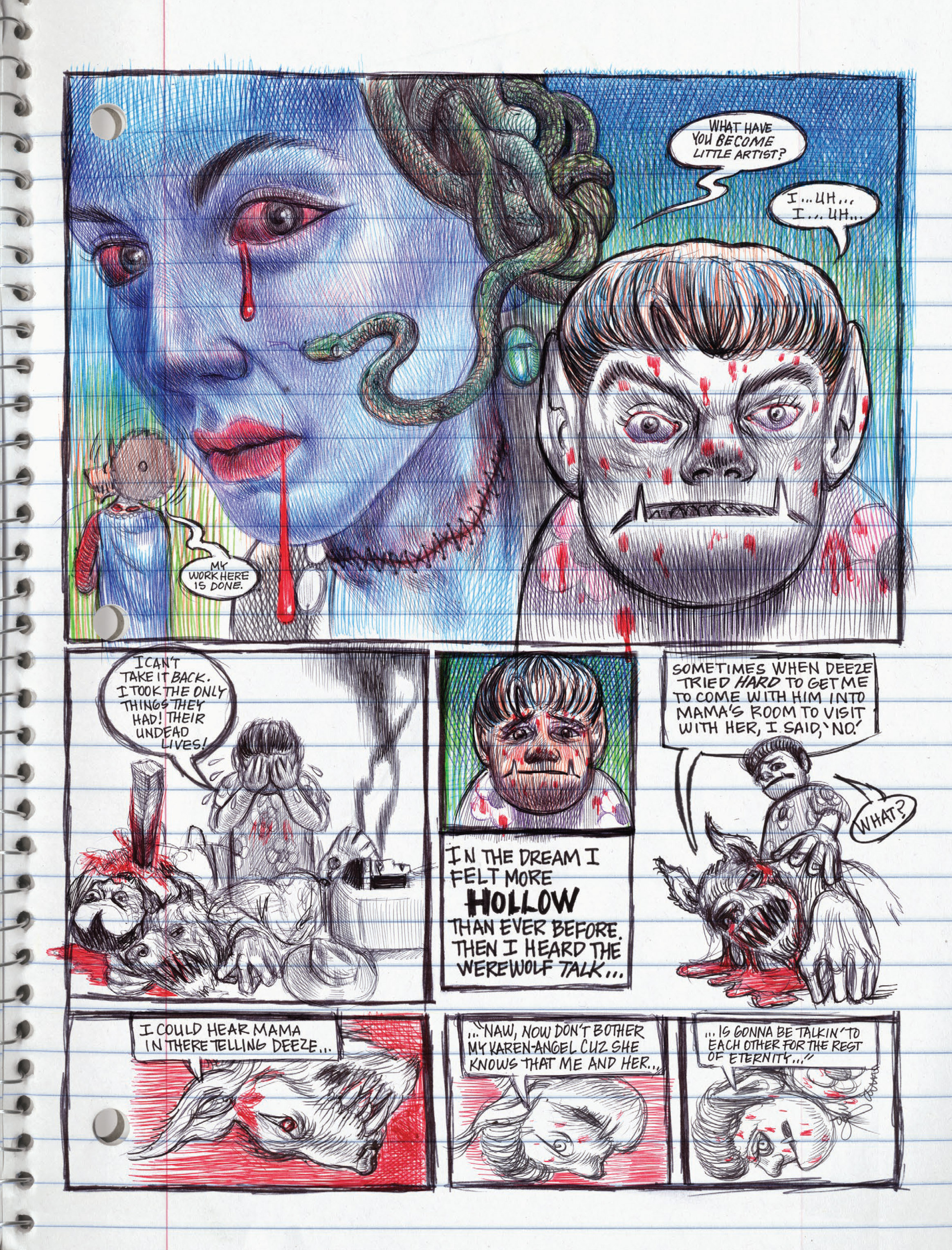 Read online My Favorite Thing is Monsters comic -  Issue #1.5 - 191