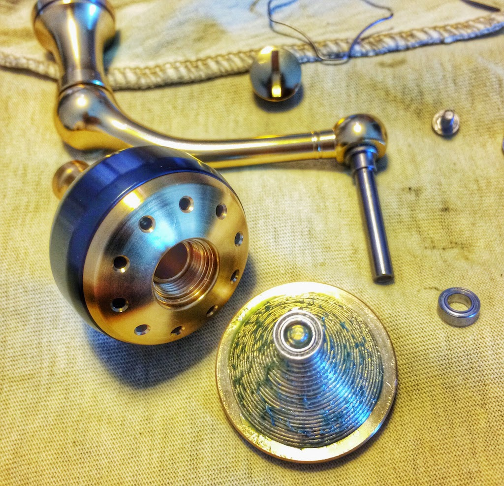 Reel pimping & angling master baiting adventures: Vanquish salt prep