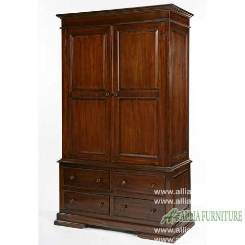 lemari pakaian 2 pintu klasik venezia