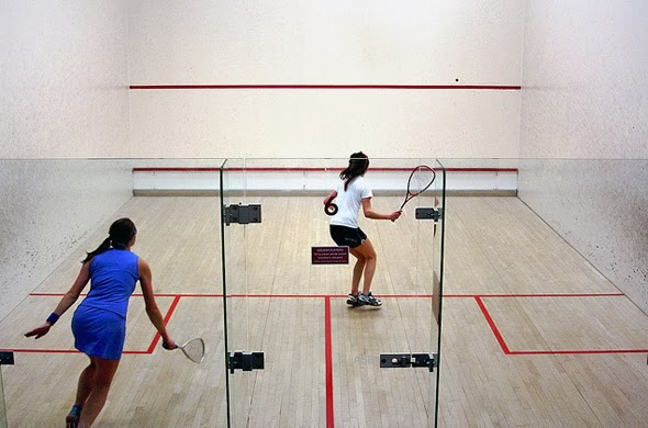 Squash é um ótimo para emagrecimento e condicionamento físico