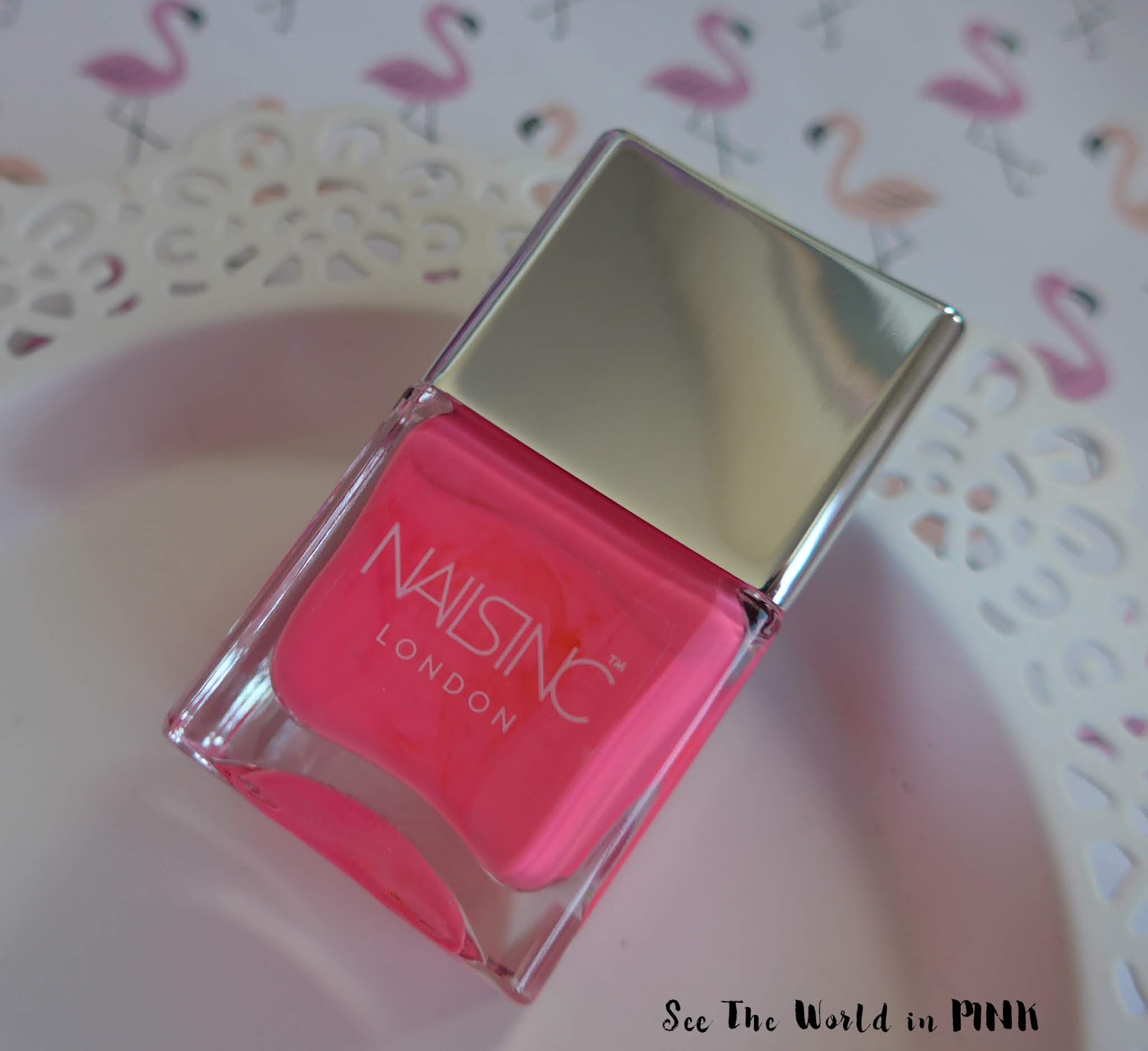Manicure Monday - Nails Inc. Flock You Nail Polish Duo