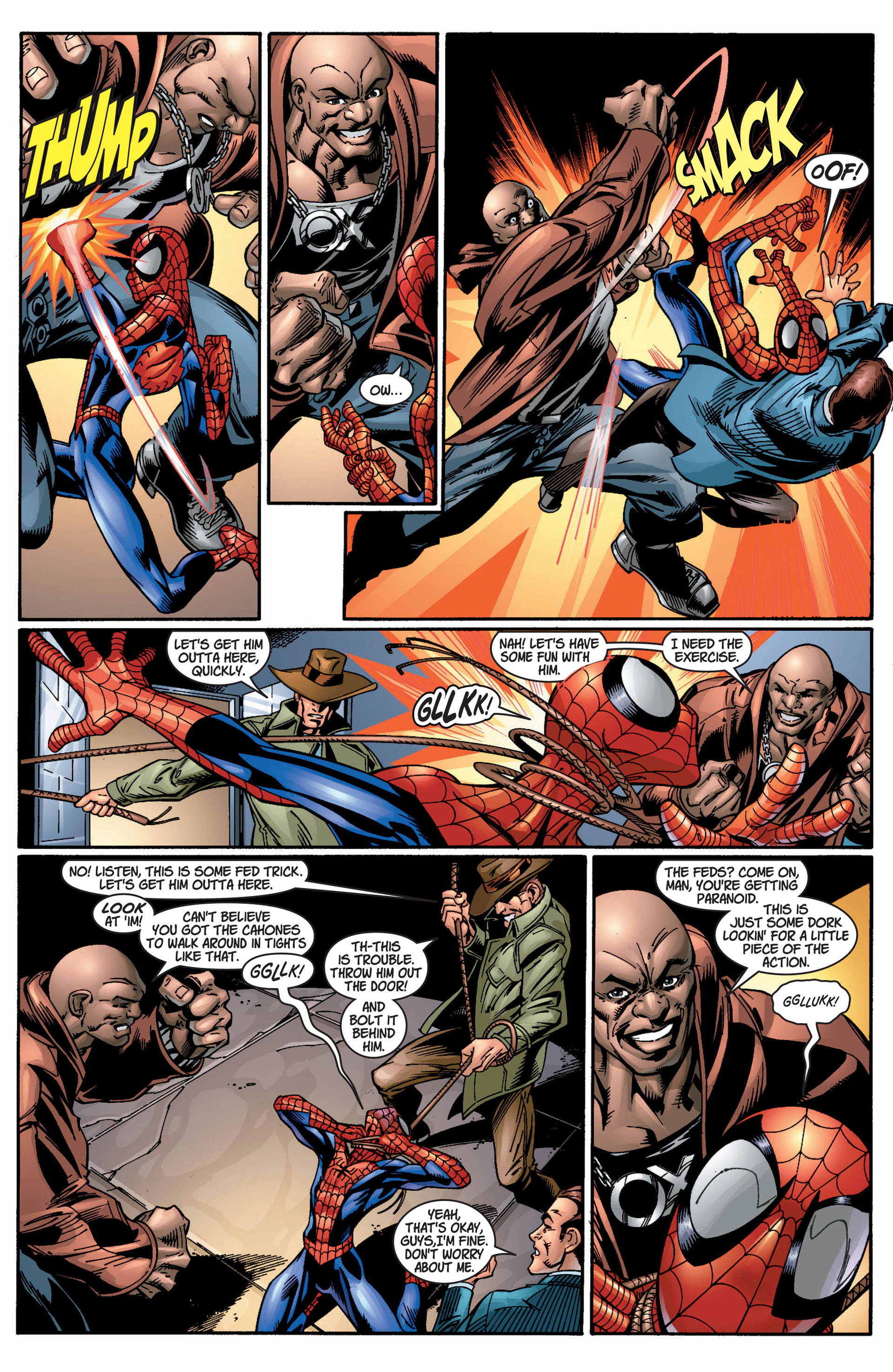 Read online Ultimate Spider-Man (2000) comic -  Issue #9 - 6