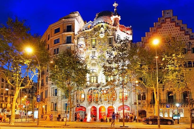 Casa Batlo em Barcelona - Foto: Shutterstock