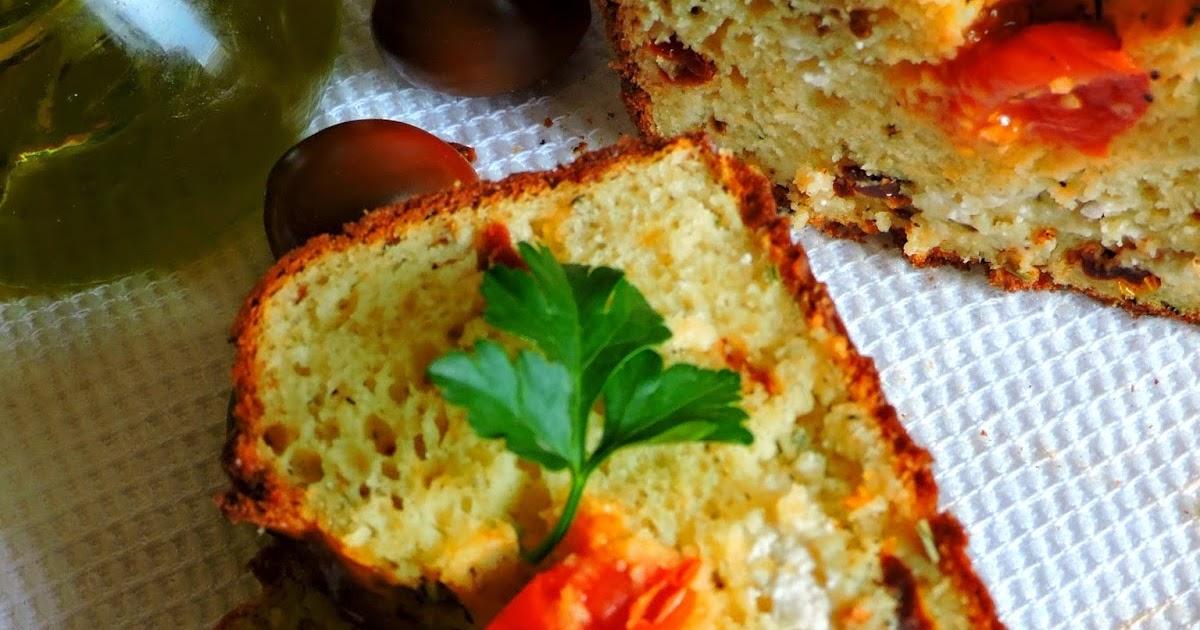 Cake Feta Tomates S Ef Bf Bdch Ef Bf Bdes Olives Noires