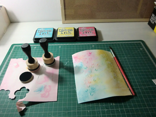Materiales para tarjeta de Arantza