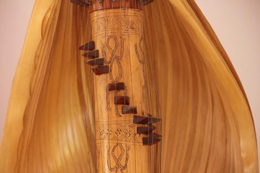 Foto alat musik Sasando