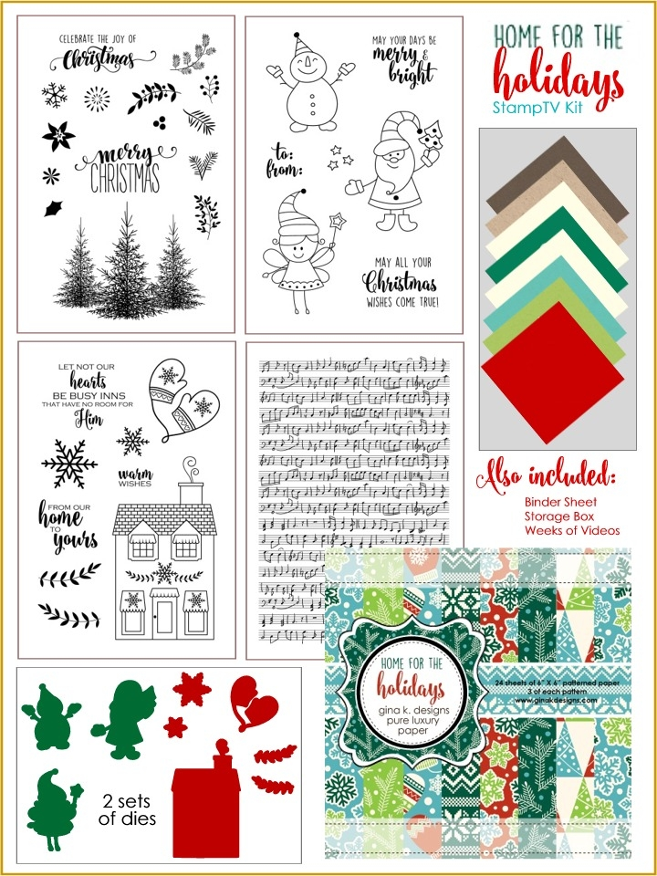 extremely inspiration new home gifts. Enjoy the gorgeous inspiration samples from team and then comment on  each blog for your chance to win a 20 Gina K Designs gift certificate Paper Crafty s Creations October Inspiration
