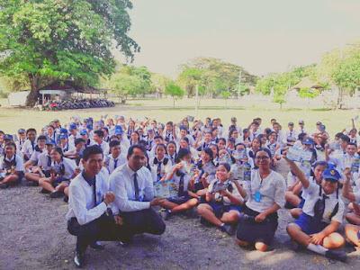 Kunjungan SMK TI Bali Global Denpasar ke SMP Negeri 11 Denpasar