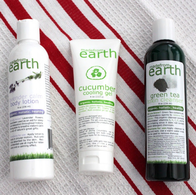 made from earth shampoo