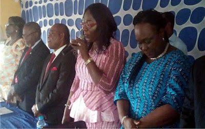 Eyakenyi meets Akwa Poly staff, students